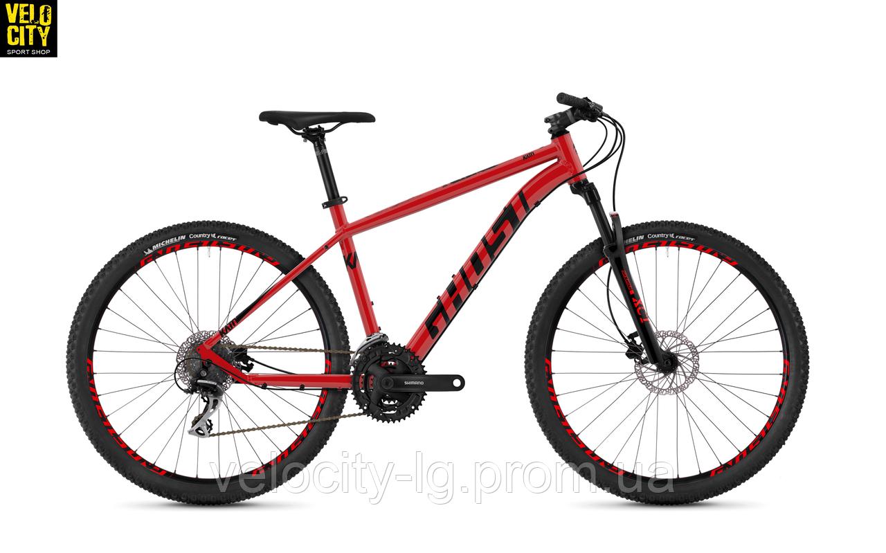 """Велосипед Ghost Kato 2.7 27,5"""" 2019 красный , фото 1"""