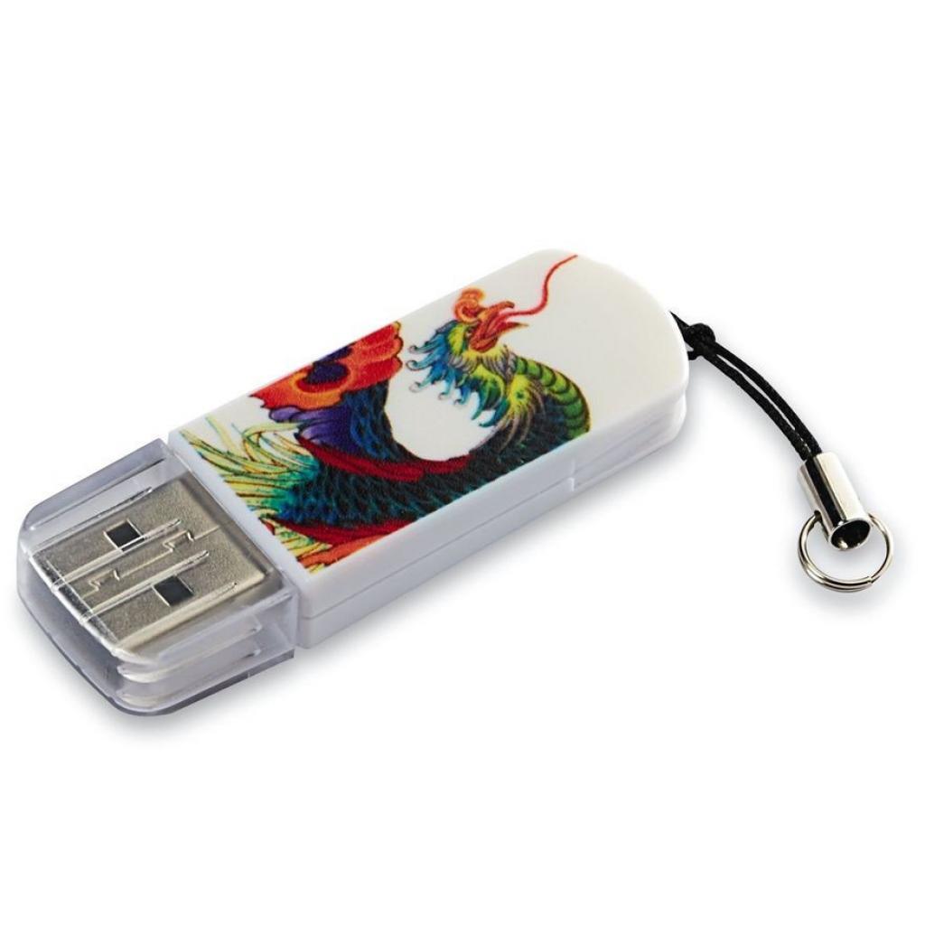 USB флеш накопитель Verbatim 16GB Store n Go Mini TATTOO EDITION PHOENIX USB 2.0 (49887)