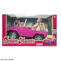 Машина JND-1308 (18шт/2) с куклой, джип, в коробке 43*20*25см