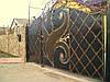 Кованные ворота 2300