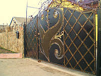 Кованные ворота 230