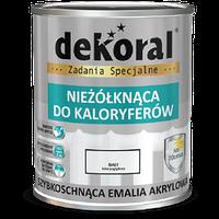 Эмаль Акриловая Dekoral для радиаторов 0,75л