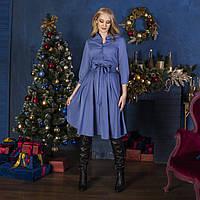Платье голубое, арт.1022