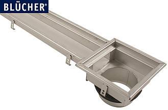 Лотковий канал Blucher із нержавіючої сталі (тип 671) DN160