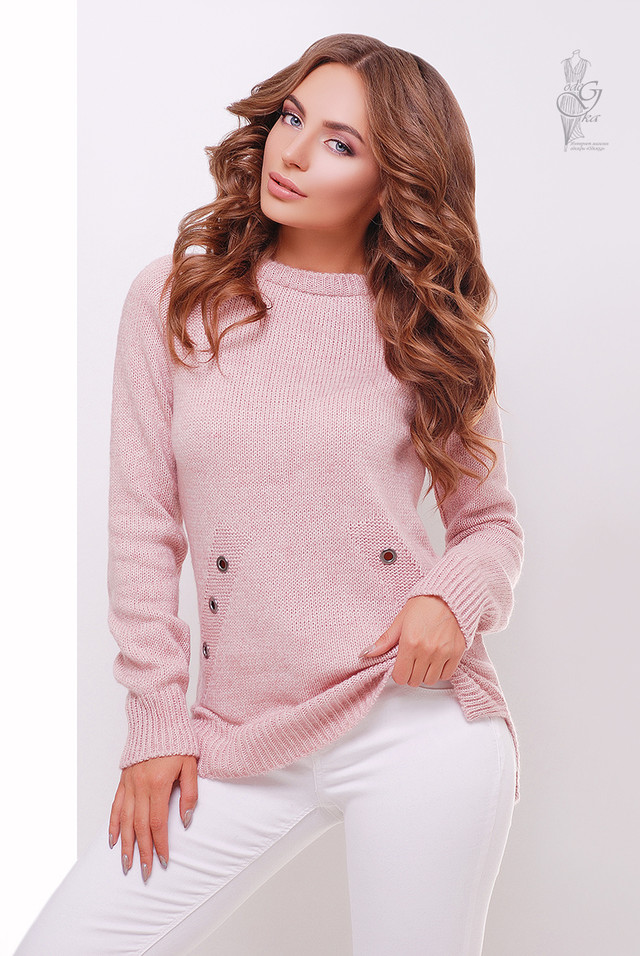 Фото Женского свитера из шерсти и акрила Нони-4