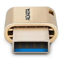 USB флеш накопитель ADATA 32GB UC350 Gold USB 3.1/Type-C (AUC350-32G-CGD), фото 3