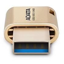 USB флеш накопитель ADATA 64GB UC350 Gold USB 3.1/Type-C (AUC350-64G-CGD), фото 3