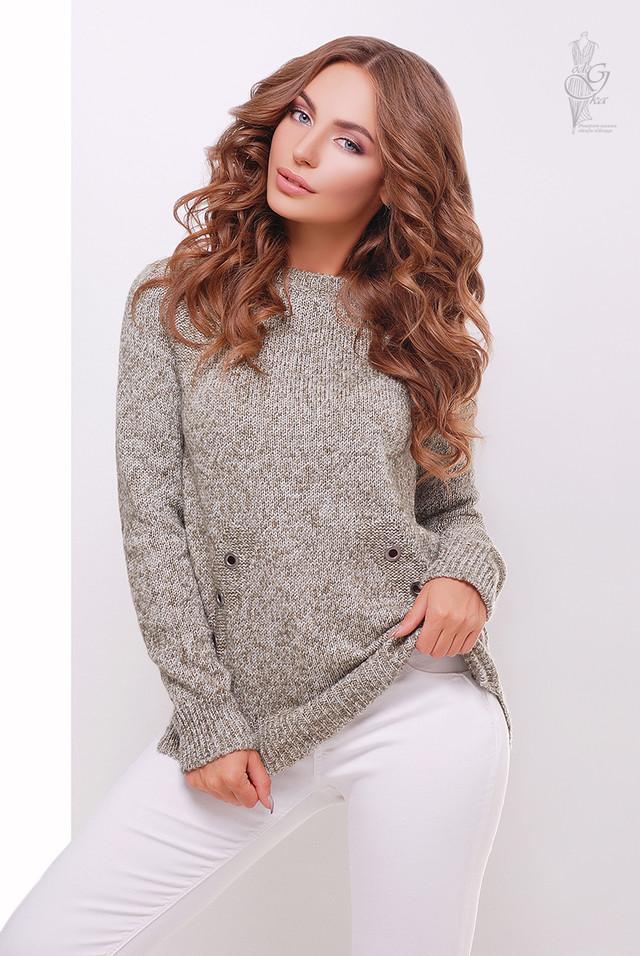 Фото Женского свитера из шерсти и акрила Нони-6
