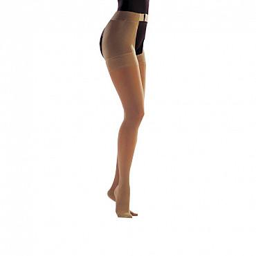 Моночулок женский, II класс компр. Medi DUOMED с креплением на талии, открыт. мысок, правый