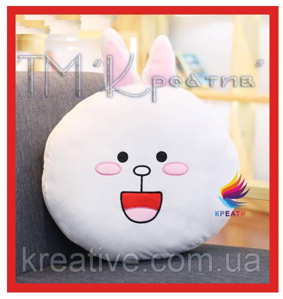 Корпоративныеподушки игрушки мишка и зайчик с вашим логотипом под заказ (от 50 шт.)