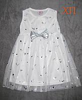 Красивейшее платье с бантиком для девочки р.  3, фото 1