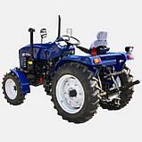 Трактор Jinma JMT3244H 24л.с. 4х4 3 цил. ГУР, фото 2