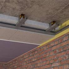 Конструкции для звукоизоляции потолка