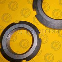 Гайка круглая шлицевая по ГОСТ 11871-88, DIN 981.