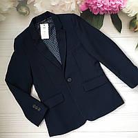 Стильный пиджак для мальчика 7-8 лет на рост 122-128  фирмы George Англия