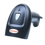 Лазерный сканер штрих-кода проводной AsianWell AW-2045 чёрный (AW-2045), фото 7