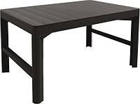 Акция! Стол Lyon rattan table Keter (8711245143446) [Бесплатная доставка!]