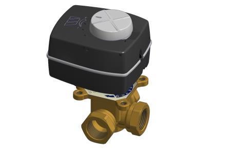 3-Х ходовий змішувальний клапан V3GB з приводом Watts Classic