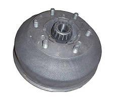 Ступица с барабаном переднего колеса правая и подшипниками ГАЗ-3307