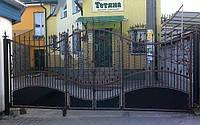 Кованные ворота 550