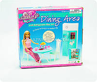 Детская игрушечная мебель Глория Gloria для кукол Барби Кухня 2812. Обустройте кукольный домик