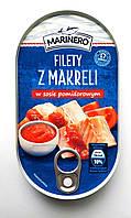 Консервированная макрель в томатном соусе Marinero 170g (Польша)
