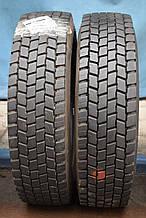 Грузовые шины б/у 205/75 R17.5 Hankook, ТЯГА, пара