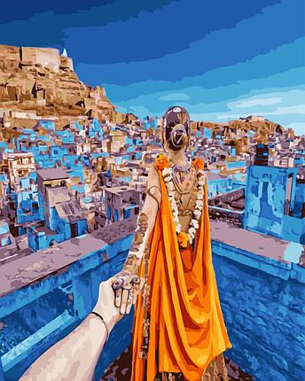 """Картина по номерам """"Следуй за мной.Тунис"""" Rainbow Art, фото 2"""