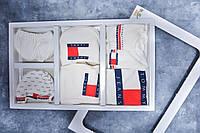 Детский набор 7в1 для новорожденных TOMMY HILFIGER 2. ТОП качество!!! Реплика., фото 1