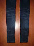 Бесшовные меховые термо лосины под джинс Натали. Норма.  р. 44-48. С рисунком, фото 8