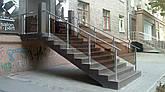Перила алюминиевые квадратные, фото 2
