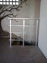 Перила алюминиевые квадратные, фото 3