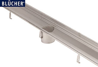 Лотковий канал Blucher із нержавіючої сталі AISI 304 (кухонный лоток) 1000 мм