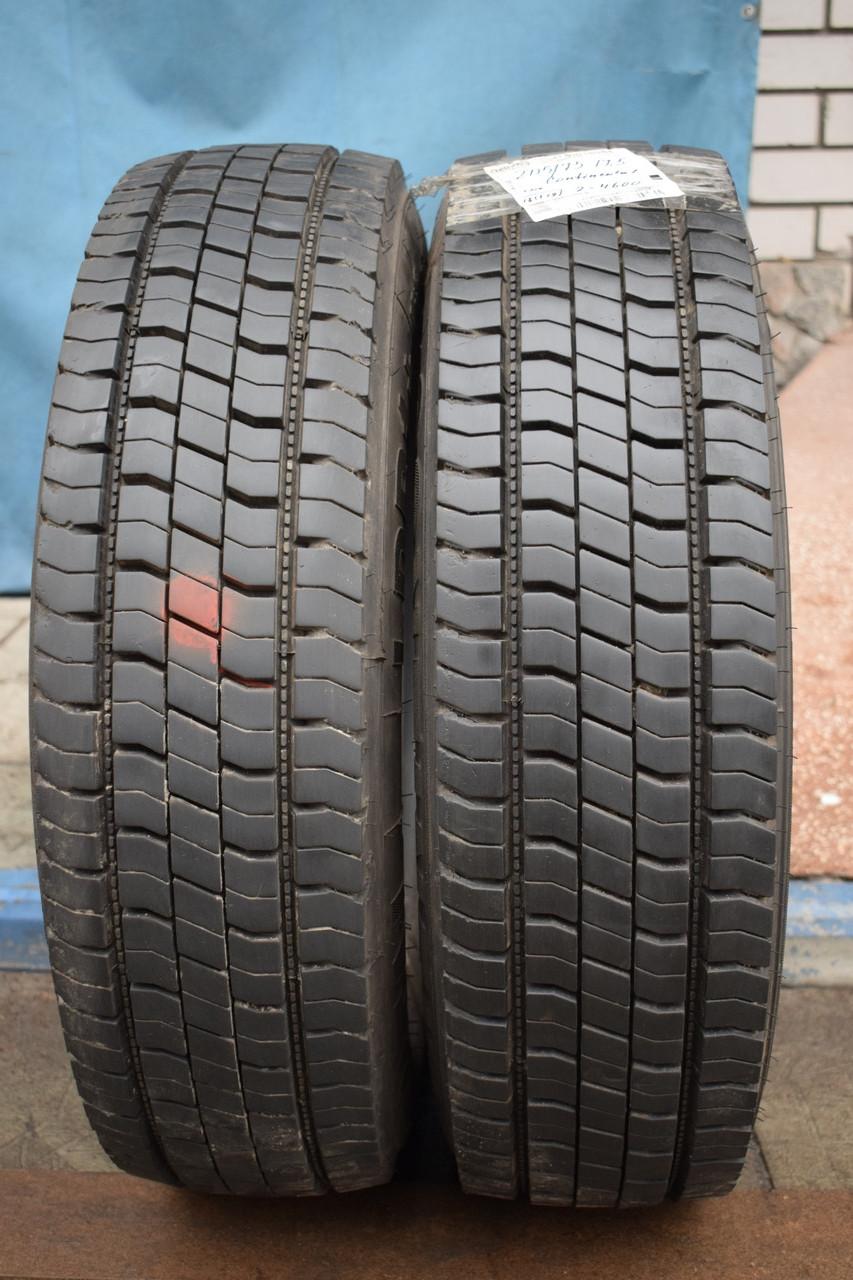 Грузовые шины б/у 205/75 R17.5 Continental, ТЯГА, пара
