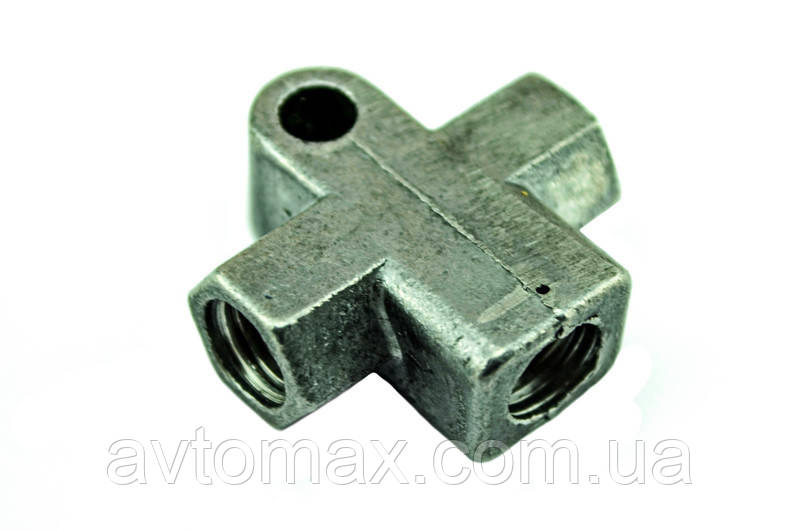 Тройник тормозной 2101 алюминий Самара 2101-3506091