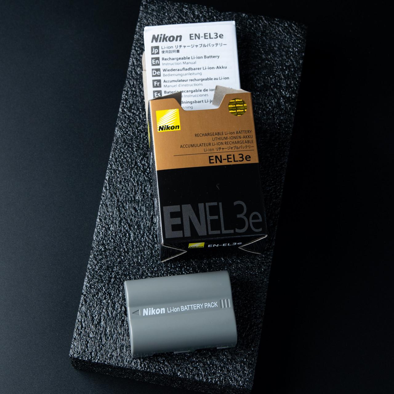Аккумулятор батарея EN-EL3e Nikon D700 D300S D300 D200 D70 D90 D70S D50 D80