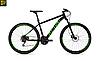 """Велосипед Ghost Kato 2.7 27,5"""" 2019 черно-зеленый"""