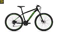 """Велосипед Ghost Kato 2.7 27,5"""" 2019 черно-зеленый, фото 1"""