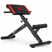 Скамья для гиперэкстензии Hop-Sport HS-1016, тренажер для спины