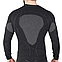 Мужская термокофта с шерстью альпаки HASTER ALPACA WOOL 45 зональная бесшовная шерстяная, фото 2