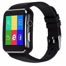 Смарт-часы (Smart Watch) Умные часы X6 Черные