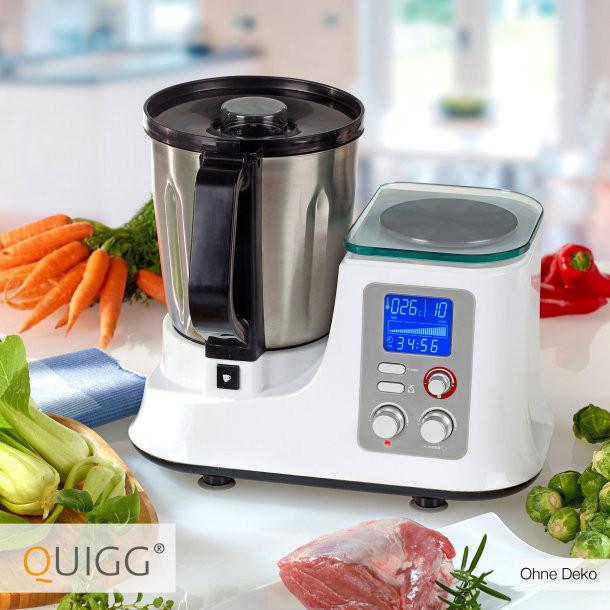 Кухонний комбайн з функцією приготування їжі QUIGG