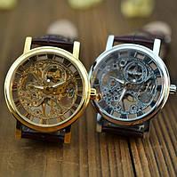 Механические мужские часы Winner Skeleton