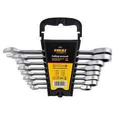 Набор ключей рожково-накидных трещоточных Sigma 6010521 8шт