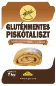 Суміш для бісквітного тіста без глютену 1кг/упаковка