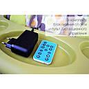 Колыбель-качели шезлонг Nanny/Carrello BT-SC-0005 Turquoise (3в1)+пульт управления  , фото 2
