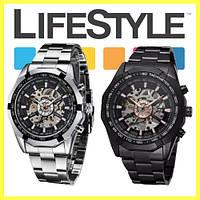 Стильные механические часы Winner Skeleton, фото 1