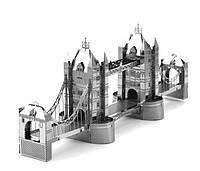 Конструктор 3D металлический Тауэрский мост Сборная модель
