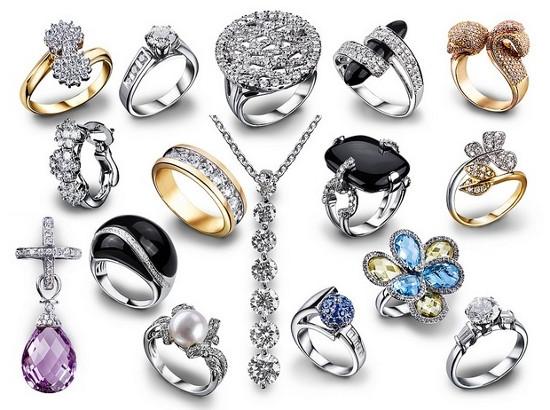 Ювелирные украшения в серебре
