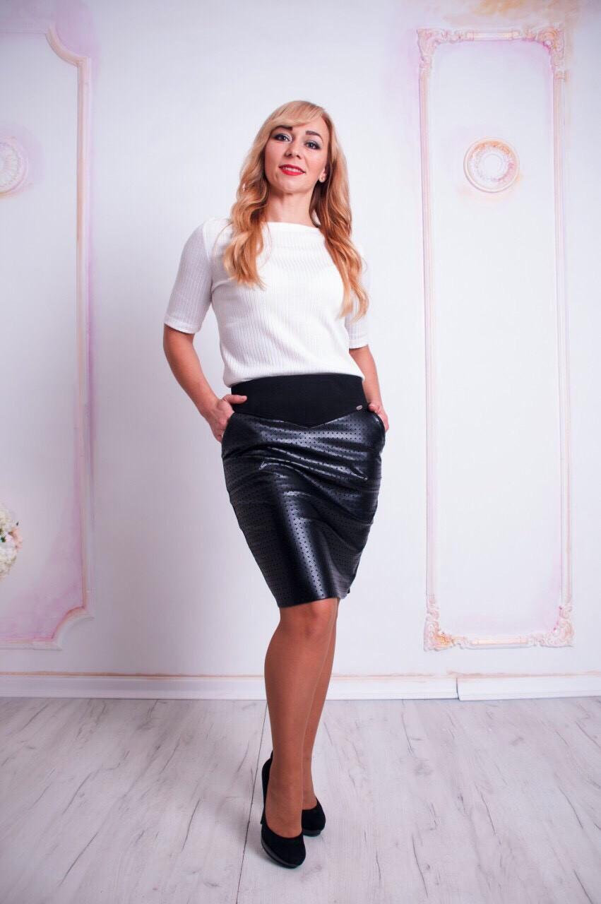 """Молодежная юбка """"Рита"""" размер только  46"""